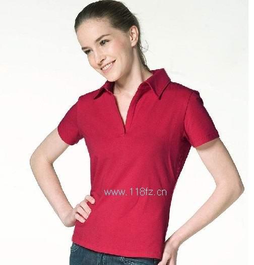 供应专业定做女式T恤  女式T恤定做