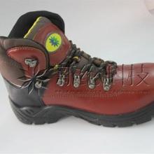 专业生产新款头层牛皮安全钢包头鞋,时尚不失防护功能