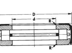 供應T581帶沖壓圈止推圓錐滾子軸承