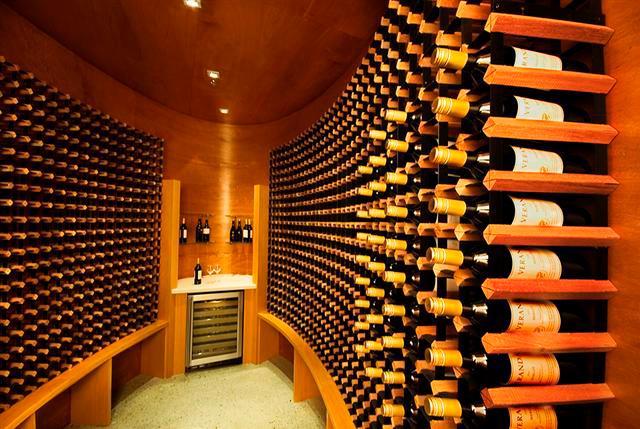 私人酒窖设计地下室酒窖设计图