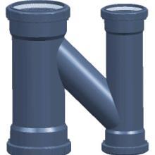 供应 聚丙烯静音排水管材管件50-200批发