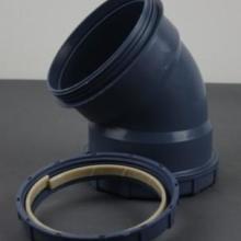 PP超静音90度单扩头弯头、PP超静音管厂家批发、PP超静音90度单扩头管、PP静音管批发