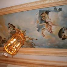 供应各类风格壁画墙纸背景墙厂家供应