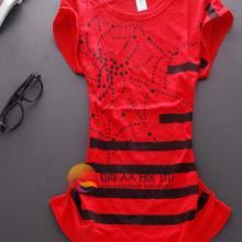 韩版女t恤批发淘宝网风向标服饰女装衬衫纯色短袖t恤