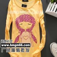 2011最便宜女士春装T恤广贸最图片