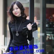 高领保暖打底衫韩版百搭时尚针织图片