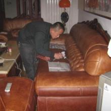 供应真皮沙发保养翻新图片