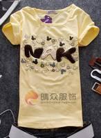 十三行长袖t恤批发2011流行女装什么牌子的卫衣好看