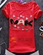韩版童装打底衫女装批发厂家图片