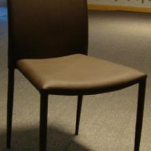 供应餐厅家具,真皮不锈钢餐椅,PU不锈钢餐椅