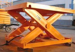 天津升降機、升降平台固定式液压装卸平台