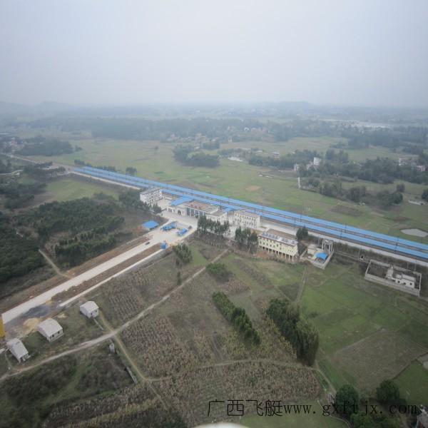 广西北流市市区.jpg 飞艇航拍 广西顺飞飞艇广告有限公司的高清图片