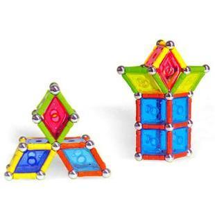 儿童拼图玩具强力 磁力棒 磁性积木 神奇构建磁力棒