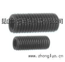 供应用于传动件设备|锥套设备|轴承调备的昆山锥套螺丝|英制圆尾紧定|工厂价批发