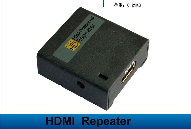 放大器图片 放大器样板图 HDMI延长器放大器30米 深圳市...
