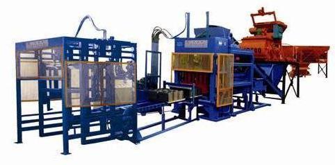 供应日照制砖机设备混凝土制品机械