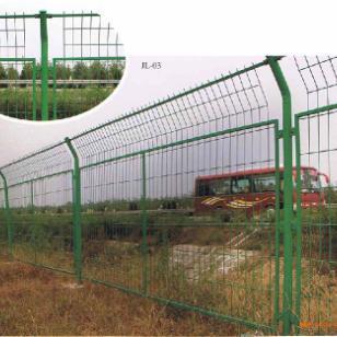 长沙安平浸塑框架护栏网厂图片