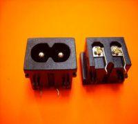 供应小家电用卡式八字电源插座/八字尾电源插座/八字形电源插座/8字型插座/八字AC插座/8字插座 八字形电源插座