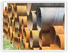 供应陕西螺旋钢管生产厂家螺旋钢管生产