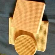 铸钢用直孔陶瓷过滤网图片