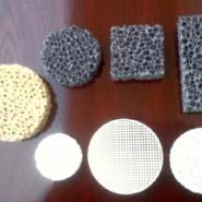 铸造用泡沫陶瓷过滤片图片