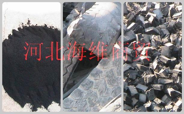 供应哪里的厂家有废旧轮胎胶粉