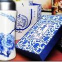 潮州青花瓷纪念品图片