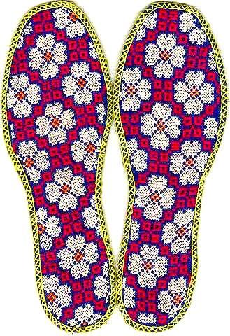 十字绣鞋垫图片_美丽鞋垫厂产品图片