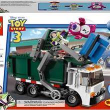 供应乐高玩具总动员7599垃圾车大逃亡乐高玩具总动员7599批发