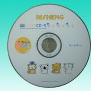 西安日胜小四毛CD刻录光盘图片