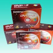西安日胜DVD-R单片装光盘图片