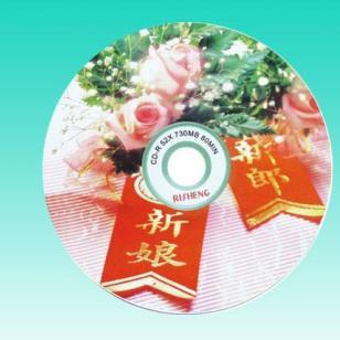 西安日胜婚庆刻录光盘图片