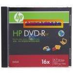 HP单片装DVD-R光盘批发图片