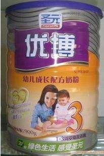 圣元优博幼儿成长奶粉3段900图片