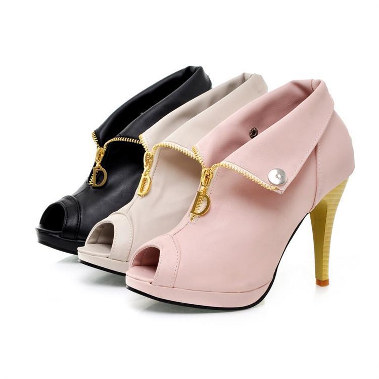女凉鞋凉靴子生产供应