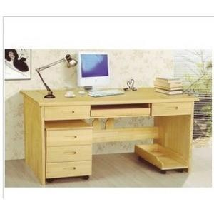 书桌电脑桌设计图图片大全 电脑桌书架书柜书桌组合台式家
