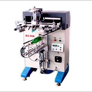 半自动玻璃容器丝印机图片