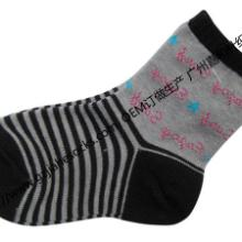 供应中新儿童袜中筒时尚袜图片