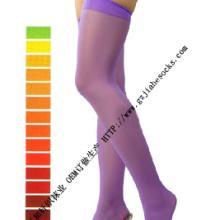 供应长筒丝袜高筒袜子订做生产批发