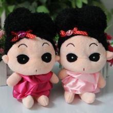 供应广东毛绒玩具毛绒迷糊娃娃公仔南海