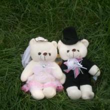 供应婚庆情侣熊河南对对熊玩具批发批发