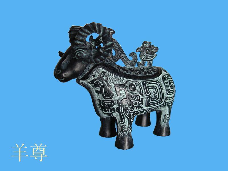 青铜器_青铜器供货商_供应西安仿古青铜动物西安青铜