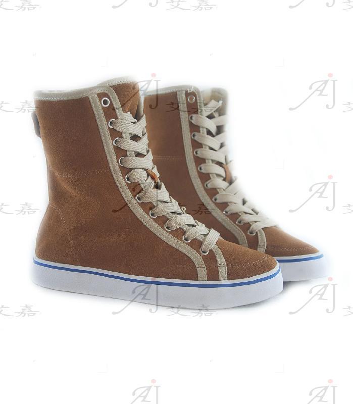 硫化/供应硫化鞋真皮硫化鞋保暖鞋图片
