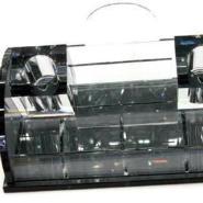 工艺品座式水晶话筒架图片