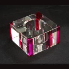 供应彩色水晶玻璃灯罩,水晶礼品是怎么形成的