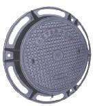 球墨800型双层井盖图片