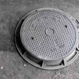 厂家酒泉球墨井盖上下水管件井盖图片