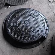 甘肃金龟牌电缆球墨铸铁井盖图片