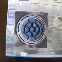 供应山西交城带锁铸铁井盖
