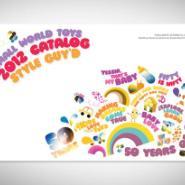 大浪玩具画册设计眼镜彩页设计图片
